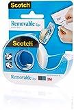 3M Scotch® 1x Removeable Tape (19mm x 20m) inkl. Abroller (wiederablösbar, unsichtbar)