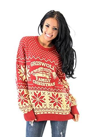 National Lampoon Griswold Family Weihnachten hässlich Sweater (Erwachsener Medium) (Weihnachts-national Lampoon)