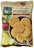 biozentrale Mini-Maiswaffeln Paprika, 5er Pack (5 x 50 g)