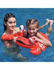 Anillo de natación 3-6 años de edad, niños, piscina, dibujos animados, inflable, axila, círculo, flotando, anillo, grueso, agua, juguetes, círculo de la vida , a