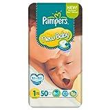 Pampers New Baby Größe 1 (2-5kg) Economy Pack 50er 6 pack x 50 pro Packung