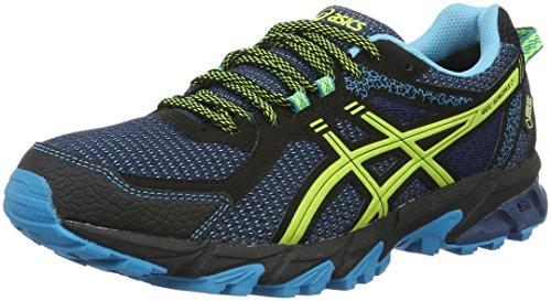 asics-gel-sonoma-2-g-tx-zapatillas-de-running-para-hombre-azul-poseidon-safety-yellow-black-435-eu