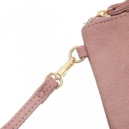 c202ef1fccfa6 Kunstleder Handtasche Beutel Tasche mit Stern Rosa -kokowebdesign.de
