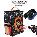 Target Practice Bolsa Bolsa de almacenamiento Equipo Bolsa de transporte con correa de bala Serie Niños Pistola de juguete Accesorios para Nerf N-strike Elite / Mega / Rival Series