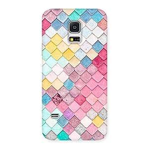 Impressive Colorfull Rocks Multicolor Back Case Cover for Galaxy S5 Mini