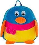 #2: CLICK4DEAL Stuffed Spongy Hugable Cute Duck Shaped School Shoulder Bag For Kids Birthday / Return Gifts Girls Lovable High Quality Special Gift