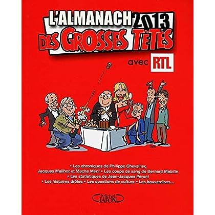 L'almanach des GrossesTêtes 2013