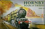 Blechschild Nostalgieschild Hornby book of trains 1938-9 Eisenbahn England Schild