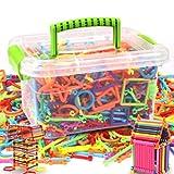 Junlinto Hunderte von Bars Verschiedene Form Bausteine Kreative Kinder Pädagogisches Spielzeug 1