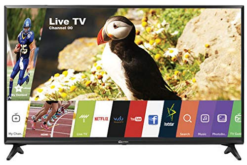 Zexmon 80 cm (32 Inches) HD Ready Smart LED TV ZM32SMHD (Black) (2019 Model)