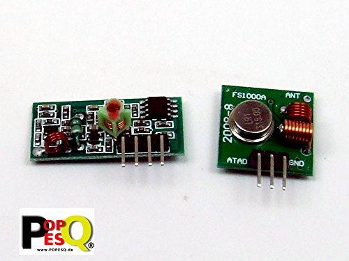 Sender & Empfänger 433 MHz Transmitter Receiver FS1000A