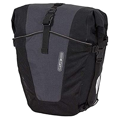 Ortlieb Unisex Back Roller Pro Plus Pair of Bicycle Pannier Bags, Unisex, Gepäckträgertasche Back-Roller Pro Plus Paar - bike-backpacks