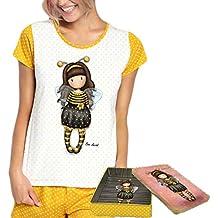 eed21ae68 SANTORO LONDON - Pijama Mujer GORJUSS Santoro Manga Corta Mujer