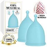 Copa Menstrual - Talla L | Set de 2 Copas Menstruales | Copa Menstrual Intima de Oliver & Jay