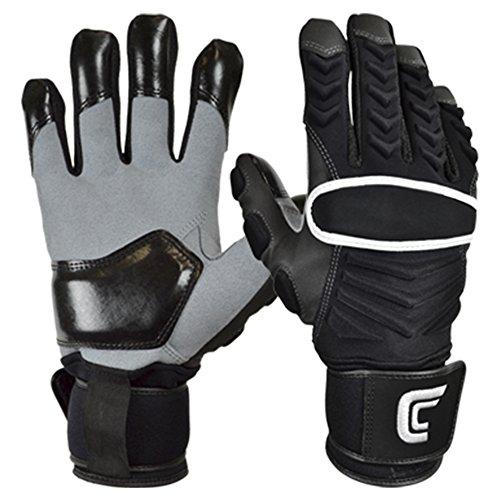 Cutters The Reinforcer American Football Lineman Handschuhe - schwarz Gr. 2XL