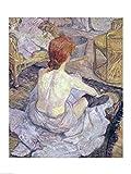 The Poster Corp Henri de Toulouse-Lautrec - Frau bei ihrer