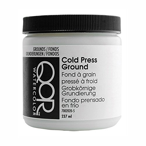 QoR Modern Watercolors - Aquarellfarbe - Grundierung - Cold Press - 237 ml