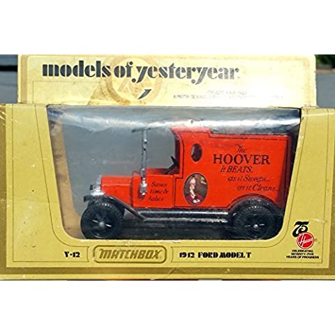 Matchbox Models of Yesteryear Y-12 1912 Ford Model T The Hoover by Matchbox
