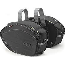 Givi EA100B Easy Bag Alforja, Volumen 28-35 Litros, Carga Máxima 5 Kg por Bolso