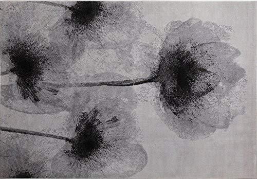 ESPRIT Night Shade Moderner Markenteppich Polyester Mikrofaser Silber 200 x 140 x 1.1000000000000001 cm