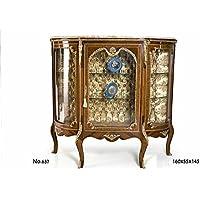 Comparador de precios Casa-Padrino Baroque Display Cabinet 160 x 55 x H. 145 cm - Living Room Furniture - precios baratos