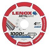 Lenox Tools 1972921MetalMax Diamant Edge Cutoff Rad, 11,4cm X 7/20,3cm