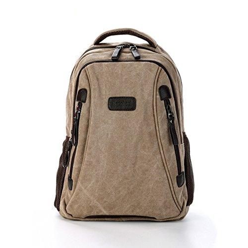 Canvas Tasche/Doppelte Umhängetasche/Lässige Laptop-Tasche/Reisetasche/[Rucksack]/Schultaschen-B B