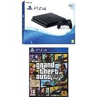PlayStation 4 500 Gb D Chassis Slim + Grand Theft Auto V (GTA V)