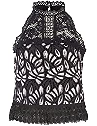 Amazon Top T Abbigliamento Canotte it Pinko Bluse E Shirt rgwqzr6CW