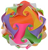 Bliss Lighting 30 pcs Jigsaw Puzzel Decorative Diwali Lighting Lamp Multi-color