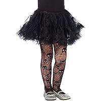 Leg Avenue-Costume da scheletro che urla, per bambini, taglia S (collant 110-116 EUR)