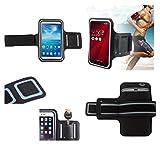 DFV mobile - Professionali Bracciale Neoprene Impermeabile Fascia Da Braccio Custodia Sport per = ASUS Fonepad Note 6  Nero