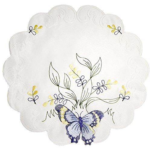 just-contempo-farfalla-rotonda-centrino-blu-30-cm