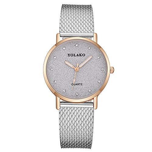 Ausverkauf  Damen Einfache Armbanduhr 2019 Frauen Analog Quarz Uhr mit Lederband Uhren Watch Quarzuhr Damenuhr für Urlaub/Geburtstag Geschenke LEEDY