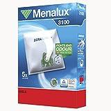 Menalux 3100, 5 Staubbeutel Duraflow Synthetik, 1 Mikrofilter, Original Markenware