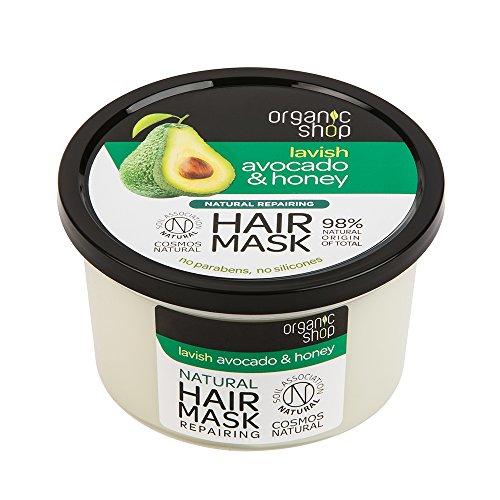 Scheda dettagliata Organic Shop Maschera Capelli Avocado e Miele - 250 ml