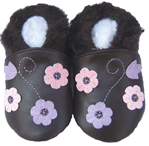 Jinwood , Chaussures souples pour bébé (fille) Marron - Marron