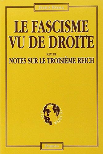 Fascisme vu de droite