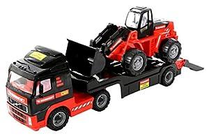 Polesie Polesie56825 Mammoet - Camión de Juguete con Cargador en Caja