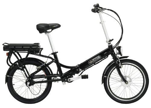 EOS - Die Chainless e-Bike - LCD Display 5 Ebenen - Getriebe mit Kardangelenk - Xenon-Scheinwerfer - Vordere Bremse V-Brake und hinten Tektro (RAD-BATTERIE 9Ah)