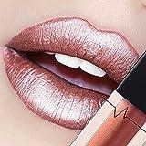 CICIYONER Damen Metall Lippenstift Lip Gloss Liquid Lippe Kosmetik, 24 Farben (24 #)