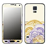 Disagu SF-105742_909 Design Skin für Samsung Galaxy S5 - Motiv Mandala_Wirbel_Violet_halb