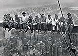 1art1 39923 New York - Mittagspause Auf Einem Wolkenkratzer, 1932 XXL Poster 136 x 96 cm
