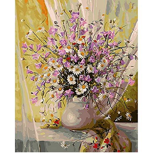 AZYVv Holz Puzzle DIY Puzzles 1000 Stück Blume Vorhang Kunst Besonderes Geschenk Freizeit Spiel Spielzeug Dekoration