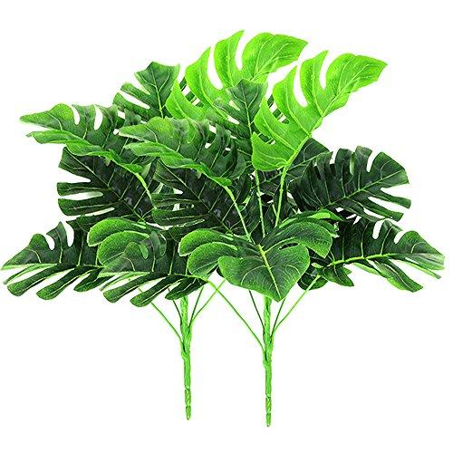 2 paquetes plantas artificiales aire libre - Fake