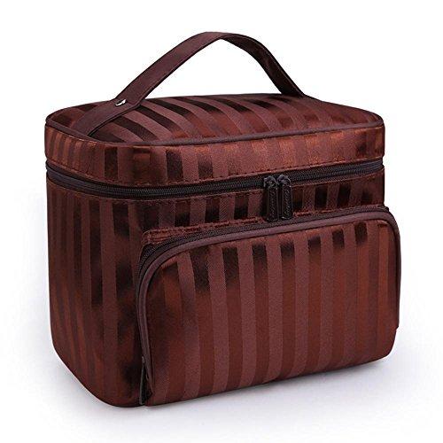 Longless Portátiles damas portátiles de gran capacidad bolsa de cosméticos bolsa de lavado