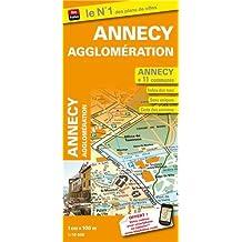 Plan de ville d'Annecy agglomération : 1/10000