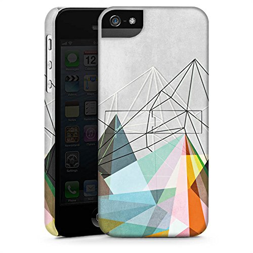 Apple iPhone X Silikon Hülle Case Schutzhülle Dreiecke Muster Design Premium Case StandUp