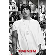 Póster Eminem - Collage - cartel económico, póster XXL