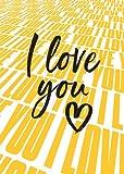 Postkarte A6 +++ LUSTIG von modern times +++ I LOVE YOU +++ MODERN TIMES © DSA